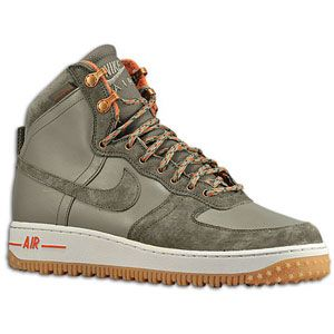 Nike Air Force 1 High   Mens   Basketball   Shoes   Silver Sage