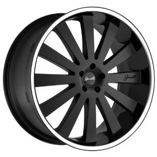 Gianelle Santorini Matte Black Wheel with Machined Lip (20x10/5x112mm