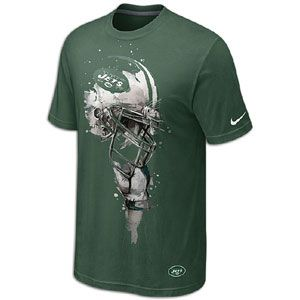 Nike NFL Tri Blend Helmet T Shirt   Mens   Football   Fan Gear   Jets