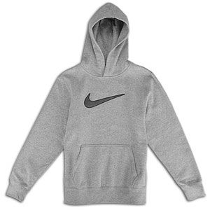 Nike Big Swoosh Fleece Pullover Hoodie   Boys Grade School   Casual
