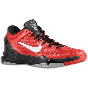 Nike Kobe VII   Mens   Basketball   Shoes   Gym Red/Metallic Silver
