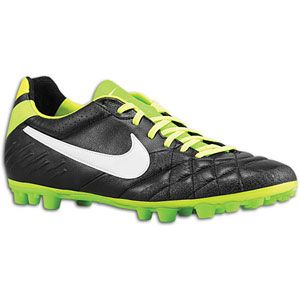 Nike Tiempo Legend IV AG   Mens   Soccer   Shoes   Black/Electric