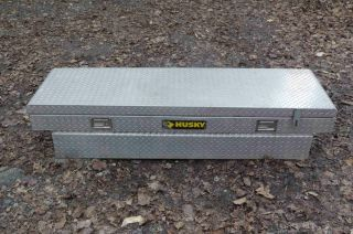Husky Truck Tool Box Model ALF571HD Alum Diamond Plate
