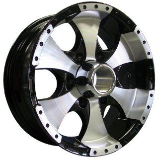 Style 136 (Black w/ Machined Face & Lip) Wheels/Rims 6x139.7 (136