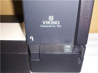 Viking Husqvarna 150 Sewing Machine w Foot Control and Case