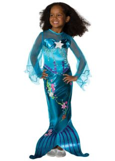 Magical Blue Mermaid Dress Up Princess Costume Rubies Todd s M