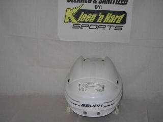 Bauer 4500 Without Face Mask Size XS White Ice Hockey Helmet