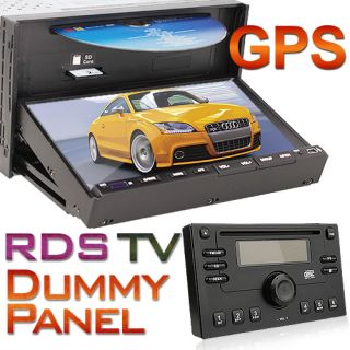 Double 2 DIN Car DVD Player 7 Touchscreen GPS Map iPod TV Radio