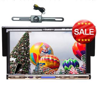 Free Rear Camera 7 1 DIN in Car DVD Player Touch Screen Stereo FM RDS
