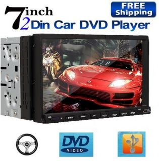 Hitachi CD Head 7 HD Touch Screen 2 Din In deck Car Stereo DVD Player