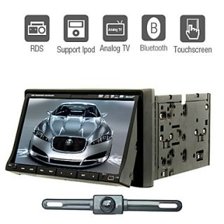 DIN Car DVD Player in Deck Touch Screen Audio Auto Video TV iPod CD