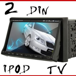 LCD TV in Dash Double DIN Car Audio CD DVD Player P2