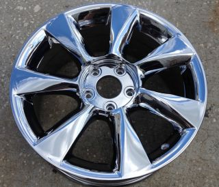 Infiniti EX35 17 PVD Chrome Wheels Rims 73699