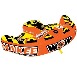 WOW Yankee Coupe Inflatable Towable Lounge 2 Rider Water Tube Toy 11