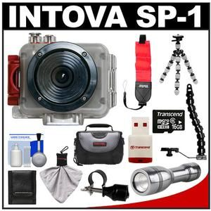 Intova Sport Pro Waterproof HD Sports Video Camera Camcorder with 16GB