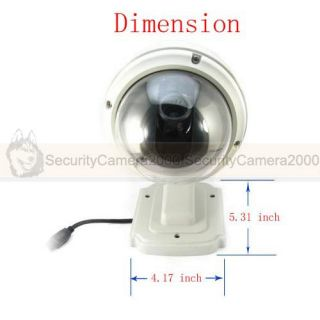IP camera, outdoor waterproof, mini, 4X zoom
