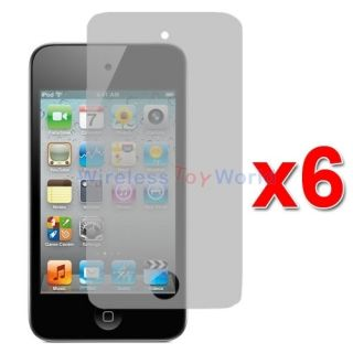 6X Anti Glare Matte LCD Screen Protector Film Guard for iPod Touch 4th