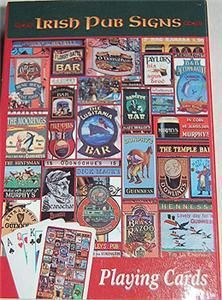 Irish Pub Bar Signs Deck of Playing Cards Ireland