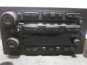 07 Isuzu Ascender 6 Disc CD Changer Player Radio