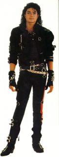 WOW Michael Jackson Black Bad Dirty Diana Armbrace Bandage MJ Costume