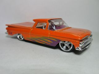 Jada Toys Dub City 1959 Chevy El Camino Loose 1 64