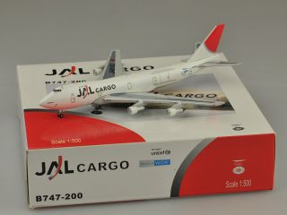 JAL B747 200F Cargo Diecast Models Netmodels Scale 1 500
