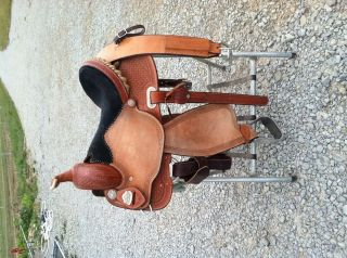 Used Charmayne James Barrel Racing Saddle 15