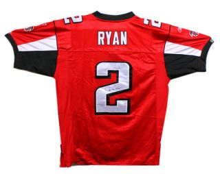 Matt Ryan Signed Autographed Atlanta Falcons Jersey JSA F37813