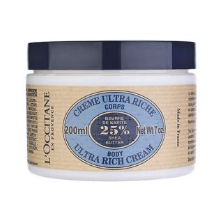Occitane LOccitane Shea Butter Ultra Rich Body Cream 7oz, 200ml