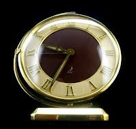 Jaz Swiveling Clock French Art Deco 1940S