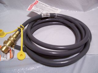 VERMONT CASTINGS JENN AIR GREAT OUTDOORS GRILL NATURAL GAS HOSE