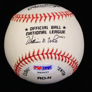 Jeff Bagwell Signed Autographed ONL Baseball Ball PSA DNA P95937