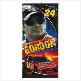 Jeff Gordon NASCAR Banner