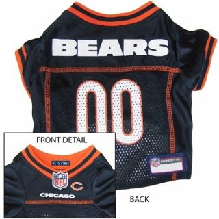 Officially Licensed NFL Dog Jersey in 4 Sizes for Small Dogs