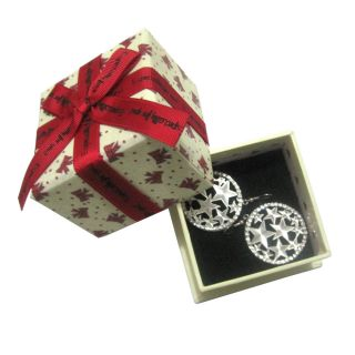 Rings Show Jewelry Display Box and Butterfly Pattern Bow Jewelry Box