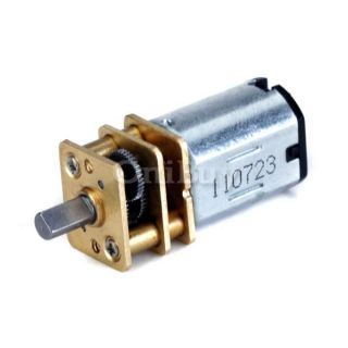 Shipping 3 6V DC Small Micro Geared Box Electric Motor High Quality