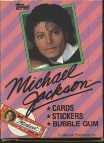 1984 Topps Michael Jackson Series 1 Trading Card Box