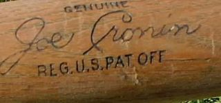Joe Cronin Louisville Slugger 125 JC Baseball Bat
