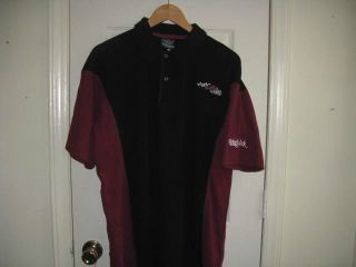 Joe Gibbs Racing Wicked Quick Pit Crew Polo Shirt Sewn on New Large