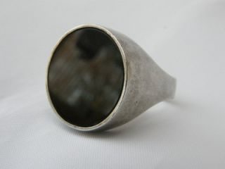 Danish Seal Ring Arne Johansen Scandinavian Big Beauty