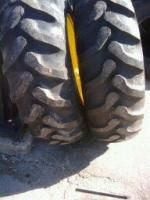 Two 16 9x28 16 9 28 Goodyear Deere Backhoe R4 T L Farm Tractor Tires w