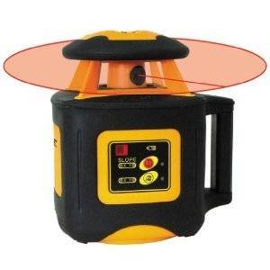 Johnson Level Tool 40 6535 Electronic Self Leveling Horizontal Rotary Laser