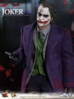 Hot Toys DX 11 Batman Dark Knight TDK Joker Version 2 0 2 V2 Heath Ledger New
