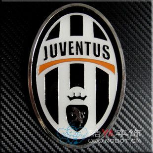Car Front Grille Emblem Badge Juventus Football Club Logo