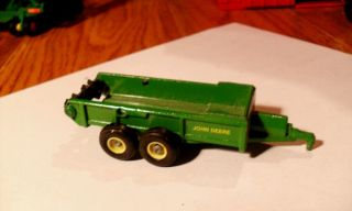 64 Ertl Farm Toy John Deere Manure Spreader Tractor Implement