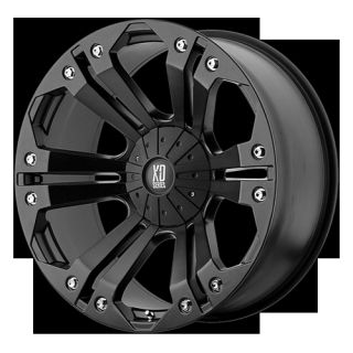 KMC XD Series XD778 Monster 20 Wheels Black