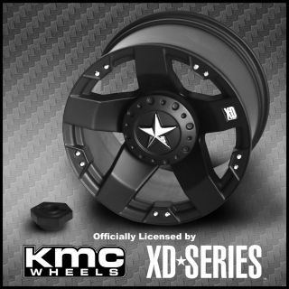 XD775 ROCKSTAR Licensed KMC XD SERIES 88mm TRAXXAS TMAXX REVO WHEEL
