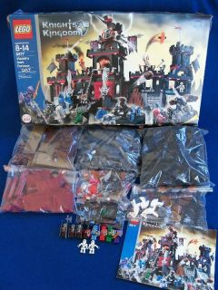 Lego Castle Knights Kingdom II Vladeks Dark Fortress 8877 Complete set