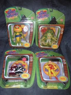 ALL4 THE KROFFT SUPERSTAR SERIES ACTION FIGURES 2000 LIVING TOYS
