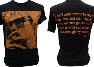 Kurt Cobain Nirvana Vintage Retro Rock T Shirt L